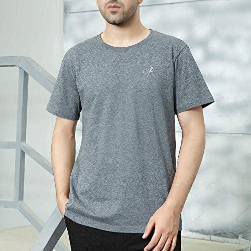 51lj%2By0otyL. AC POPINDEX T Shirts for Men Short Sleeve Tee Undershirt (100% Cotton)    Product Description
