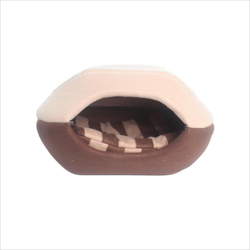 C 51 *43 *37cmCat House Dog Cat Sleeping Bag Pet Pet Villa Four Seasons Home Cat Toy (Colore: A, Dimensione:* 45 * 38 * 32cm)