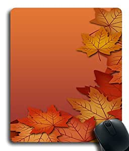Autumn Leaves Custom Mouse Pad/ Mouse Mat - Cloth - 3MM - Rectangle by ruishername