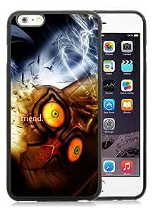 Popular iPhone 6 Plus/iPhone 6S Plus TPU Skin Case ,The Legend Of Zelda Graphics Quote Eyes Zelda Black iPhone 6 Plus/iPhone 6S Plus Screen Cover Case Hot Sale And Unique Designed Phone Case