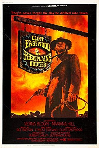 Xxxl Poster high plains drifter clint eastwood