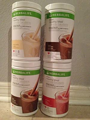 Herbalife Formula 1 Healthy Shake Mix (4 Pack). Save and **No Tax** Choose your own flavors and email them to us. by Herbalife