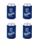 MLB Kansas City Royals Glitter Can Koosie (Pack of 4)