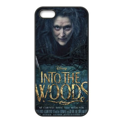 Into The Woods 1 coque iPhone 4 4S cellulaire cas coque de téléphone cas téléphone cellulaire noir couvercle EEEXLKNBC25942