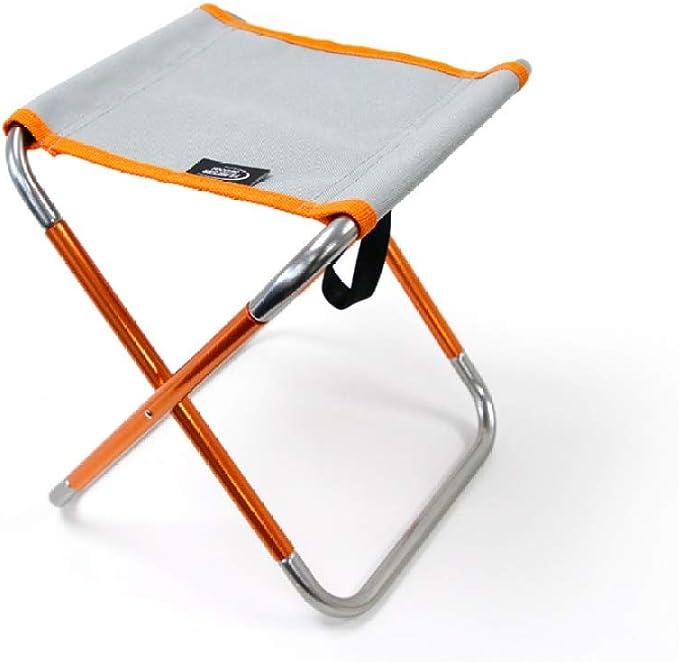 Taburete De Picnic Silla Plegable Portátil De Aluminio ...