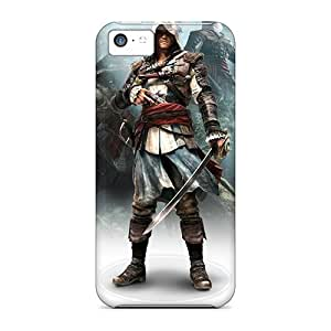 Tough Iphone Case Cover/ Case For Iphone 5c(assassins Creed Iv Black Flag Game)