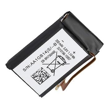 ASHATA 3.8V 300mAH Reemplazo de Batería Recargable de Smartwatch ...