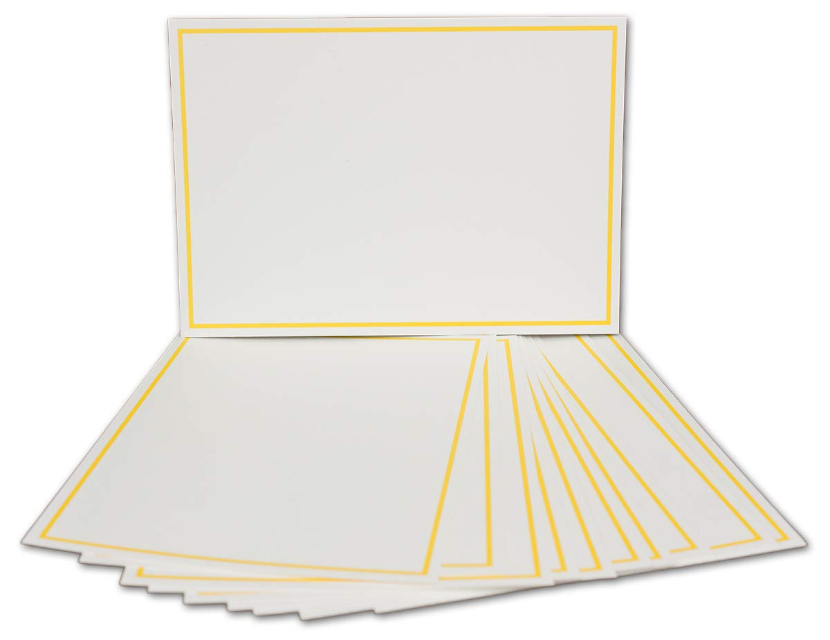 Postkarten-Einfachkarte-DIN A6-240 g m² - Natur-Weiss-Creme mit Rahmen Rahmen Rahmen in Hellblau - 200 Stück - Premium QUALITÄT - 10,5 x 14,8 cm - Ideal für Grußkarten und Einladungen - NEUSER FarbenFroh B07JQ2S2VQ | Üppiges Design  273536