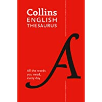 Collins English Thesaurus Paperback Edition: All the Words You Need, Every Day [Eighth Edition]