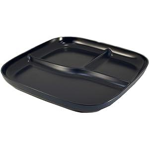 アサヒ興洋 ランチプレート ネイビー Solow Diner 約直径23×高さ3cm カフェ風 落ち着いた色合い 食洗機対応 電子レンジ対応 日本製 AZ19-31