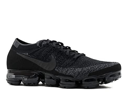 detailed look 3914b 342ba Nike Mens Lab Air Vapormax Flyknit Black Fabric Size 12.5