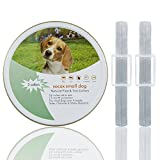 2 Pack | 4 Flea Collars for Small Dogs | Flea and Tick Prevention for Dogs | 12-Month Protection| Potent, Safer and Water-Resistant | 16 Inches Cut to Size
