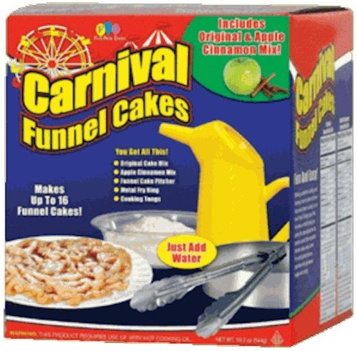 Fun Pack Foods - Carnival Funnel Cakes Deluxe Kit ()