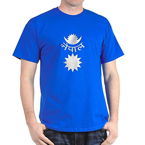 CafePress Nepal Emblem 100% Cotton T-Shirt