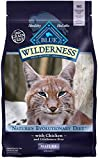 Blue Buffalo Wilderness High Protein Grain Free, Natural Mature Dry Cat Food, Chicken 5-Lb Review