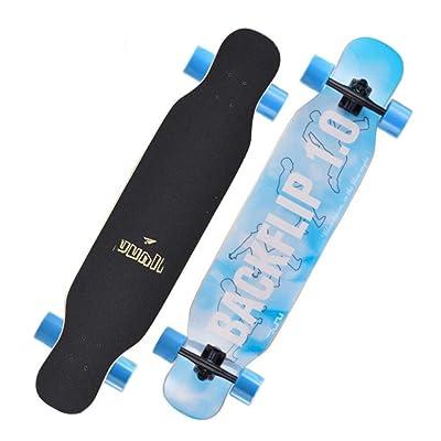 Aniseed Skateboards Cruiser Longboard Skateboard Deck Complete LAN Sheng Double Kick 9.1-Inch X 42.0-Inch : Sports & Outdoors [5Bkhe1901982]