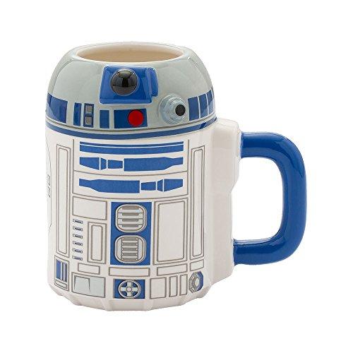 Vandor Star Wars R2-D2 20 Ounce Ceramic Sculpted Mug (99401) -