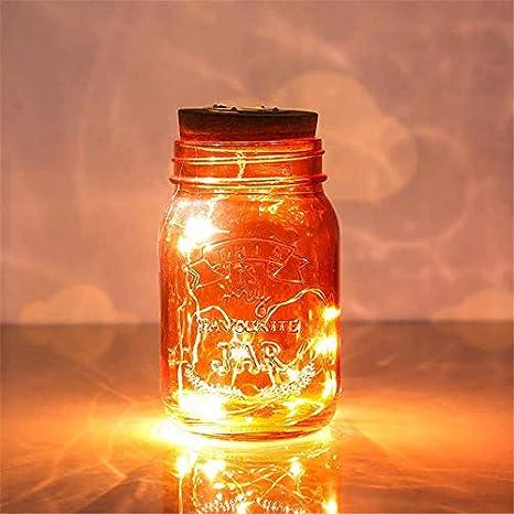 Qiong Yao TIAN Luz Nocturna Creativo Solar botella de vidrio ...
