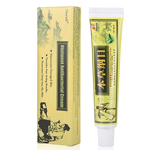 Psoriasis Treatment,Psoriasis Cream for Dermatitis, Eczema,Natural Chinese Herbal Cream Eczema Dermatitis Psoriasis Vitiligo Skin Disease Treatment ,1 Tube/Box