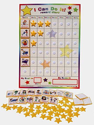 "Kenson Kids ""I Can Do It"" Reward and Responsibility Chart, 1"