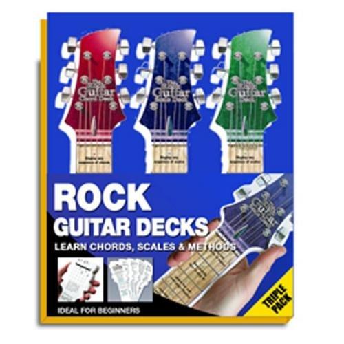 Hal Leonard Rock Guitar Triple (Guitar Triple Deck)
