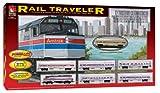 : Life Like Rail Traveler AMTAK Passenger Electric Train Set