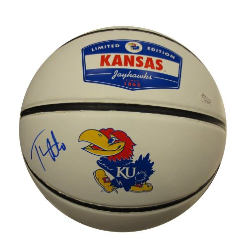 Thomas Robinson Signed University of Kansas Autographed Basketball JSA COA (Autographed Robinson Basketball)