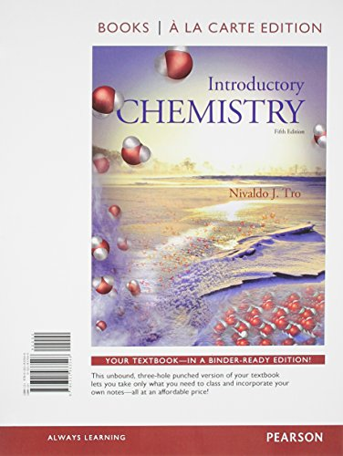 Introductory Chemistry Books a la Carte Edition 5th Edition