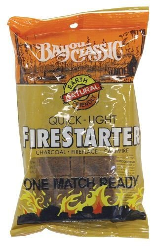12 pack Bayou Classic 4pc. Quick-Light Firestarter