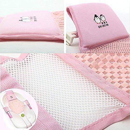 StillCool Newborn Baby Bath Seat Support Net Bathtub Sling Shower ...
