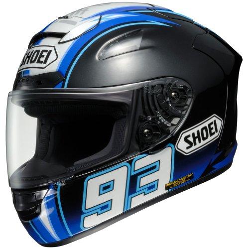 Shoei Montmelo Marquez X-Twelve Sports Bike Racing Motorcycle Helmet - TC-2 / Medium