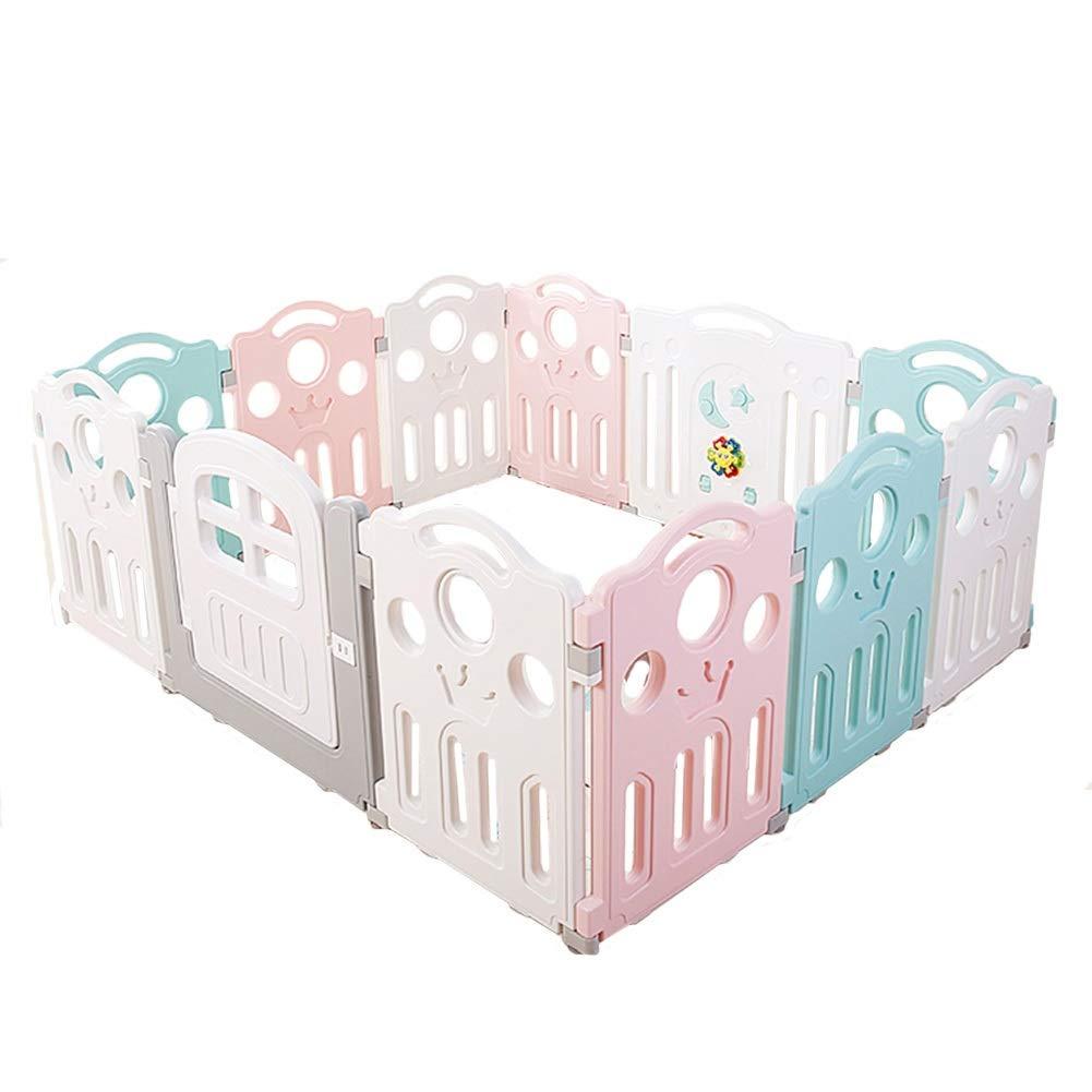 新規購入 CHAXIA ベビーサークル 赤ちゃん B07QWDF7J3 の柵 (色 12パネル 幼児 家庭 : フェンス ガードバー 遊園地 (色 : Green+Pink+White, サイズ さいず : 180X150X70CM) 180X150X70CM Green+Pink+White B07QWDF7J3, フォーラムエイト:09208b8c --- a0267596.xsph.ru