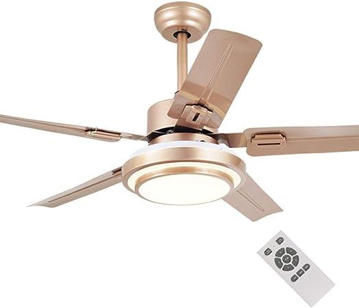 Lámparas de araña Luz del Ventilador De Techo para Control De Velocidad Inteligente para El Hogar Lámpara para Lámpara para Ventilador Luz Silenciosa para El ...