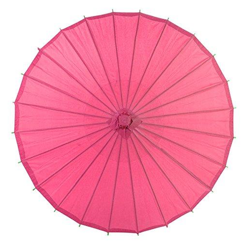 Quasimoon Fuchsia Parasol Umbrella PaperLanternStore