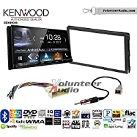 Volunteer Audio Kenwood DDX9904S Double Din Radio Install Kit with Apple CarPlay Android Auto Bluetooth Fits 2007-2010 Hyundai Elantra