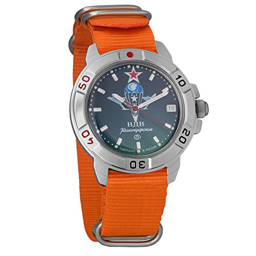 Vostok Komandirskie Commander Russian Army Mens Mechanical Military Wrist Watch #431021 (Vostok Mechanical Wrist Watch)