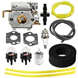 Harbot 753-04408 Carburetor with Air Fuel Filter Line for McCulloch MT700 MT705 MT765 MB320BV Yard Machines Y28 Y28VP Y700 Y700VP Y765 Bolens BL100 BL150 Ryobi MTD 2800R 766R String Trimmer
