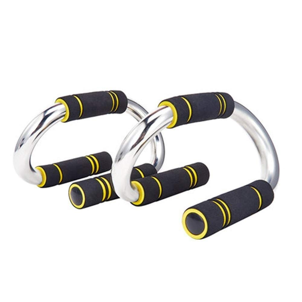 1 Pair of Push Up Bars - Fitness/Exercise, Strength Training, Bars/Stands/Handles, Grey and Black Colour