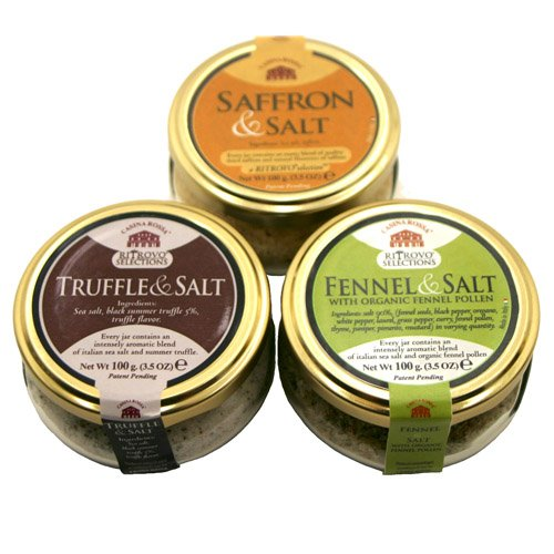 Casina Rossa 3 Pack Salts - Truffle / Saffron / Fennel by Casina Rossa