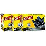 Glad Easy-Tie Regular Garbage Bags, 40 ct (Pack of 3)