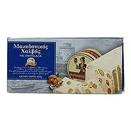 Greek Macedonian Halva with Peanuts 400gr 14.10 Oz