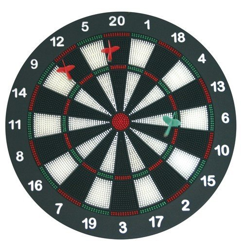 Eduplay 170003 Dart Set with 6 Soft Darts by Eduplay
