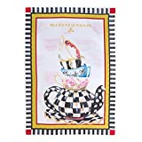 MacKenzie-Childs 100% Cotton Curious Teacup Tea Towel