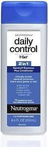 Neutrogena Daily Control 2 In 1 Dandruff Shampoo Plus Conditioner 8.50 oz (Pack of 12)