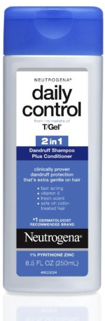 Neutrogena Daily Control 2 In 1 Dandruff Shampoo Plus Conditioner 8.50 oz (Pack of 8)