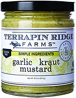 product image for Garlic Kraut Mustard by Terrapin Ridge Farms – One 8.5 oz Jar