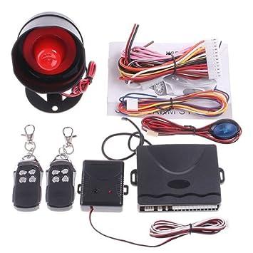 Andoer Sistema de protección de la alarma del coche 1-Way ...
