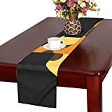 QYUESHANG Giraffe Africa Safari Wildlife Animal African Table Runner, Kitchen Dining Table Runner 16 X 72 Inch For Dinner Parties, Events, Decor
