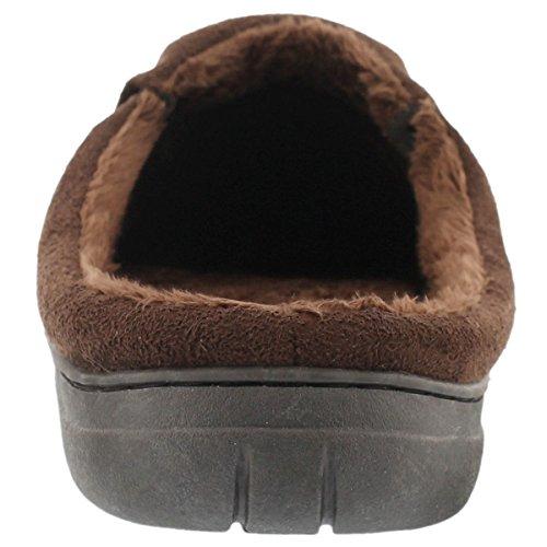 Softmoc Heren Polar Ii Open Rug Pantoffel Bruin 12 M Ons