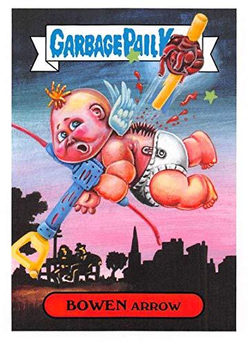 2019 Topps Garbage Pail Kids We Hate the '90s Toys Sticker #10b BOWEN ARROW Sticker Trading Card